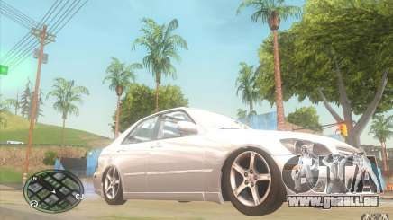 Lexus IS300 Light Tuning für GTA San Andreas