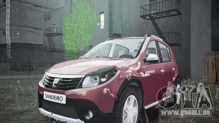 Dacia Sandero Stepway pour GTA 4