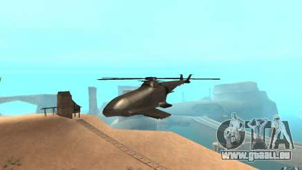 Scout Drone from BO2 pour GTA San Andreas