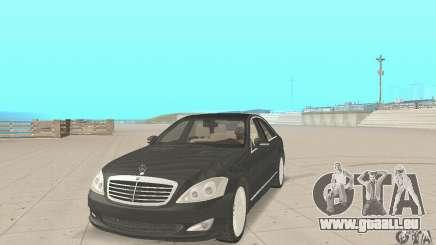 Mercedes-Benz S500 (w221) 2006 pour GTA San Andreas