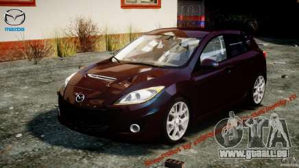 Mazda Speed 3 [Beta] pour GTA 4