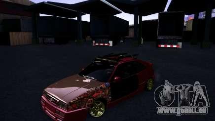 Volkswagen Corrado Rathella pour GTA San Andreas