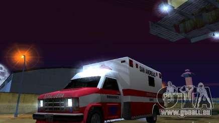 Ambulance 1987 San Andreas pour GTA San Andreas