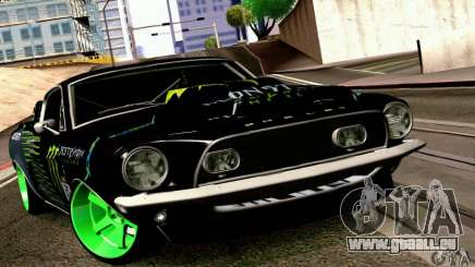 Shelby GT500 Monster Drift für GTA San Andreas