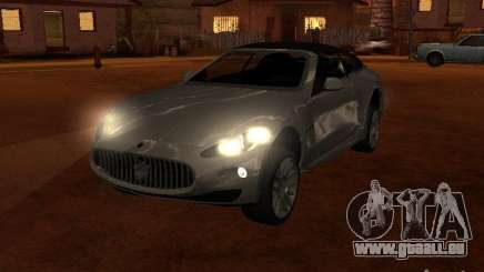 Maserati Granturismo S argent pour GTA San Andreas