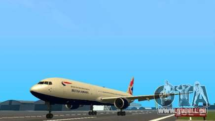 Boeing 767-300 British Airways für GTA San Andreas