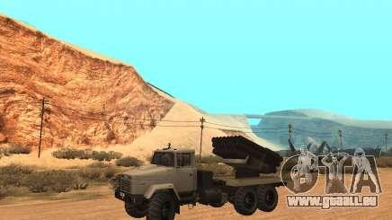 KrAZ-63211 JAMZ v. 1 für GTA San Andreas