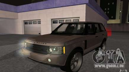 Land Rover Supercharged für GTA San Andreas