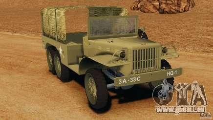 Dodge WC-62 3 Truck pour GTA 4