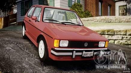 Volkswagen Rabbit 1986 pour GTA 4