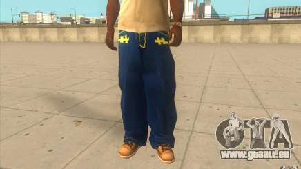 Karl Kan Puzzle Jeans für GTA San Andreas