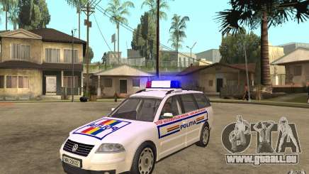 VW Passat B5+ Variant Politia Romana pour GTA San Andreas