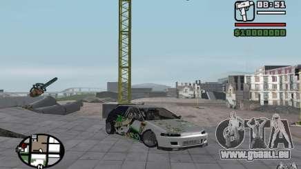 Honda Sivic drift für GTA San Andreas