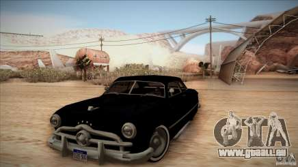 Ford Coupe Custom 1949 pour GTA San Andreas