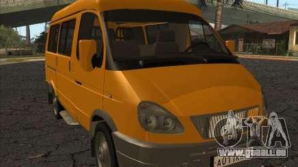 GAZ 22171 Sable für GTA San Andreas