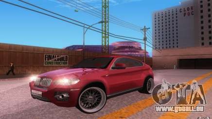 BMW X6 Tuning pour GTA San Andreas