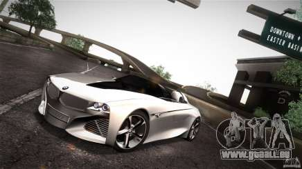 BMW Vision Connected Drive Concept für GTA San Andreas