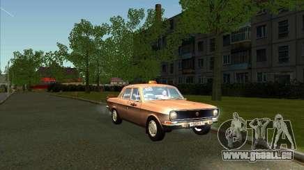 Taxi de Volga GAZ 24-10 pour GTA San Andreas