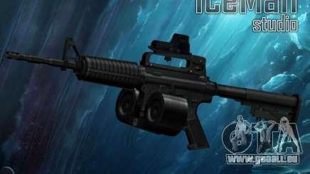 M4-A1 pour GTA San Andreas