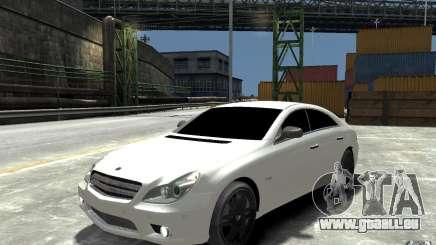 Mercedes Benz CLS Brabus Rocket 2008 pour GTA 4