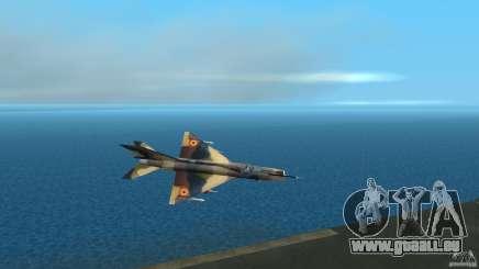 MiG 21 LanceR A für GTA Vice City