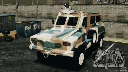RG-31 Nyala SANDF für GTA 4