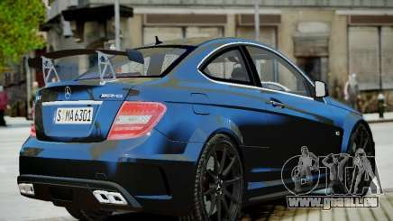 Mercedes-Benz C63 AMG Black Series 2012 v1.0 für GTA 4