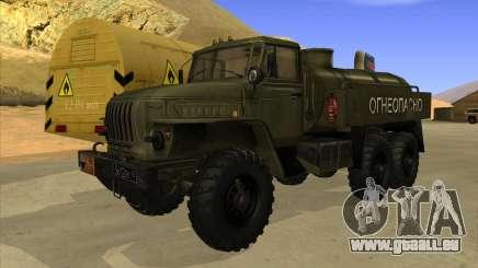 Ural 4320-LKW für GTA San Andreas
