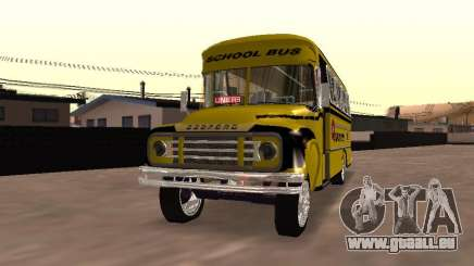 Bedford School Bus pour GTA San Andreas