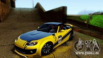 Mazda MX-5 2007 für GTA San Andreas