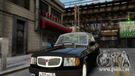 Volga gaz 3110 pour GTA 4