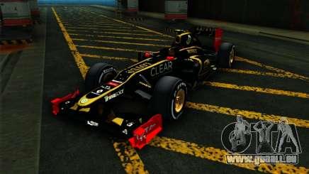 Lotus E20 F1 2012 für GTA San Andreas