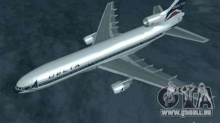 L1011 Tristar Delta Airlines für GTA San Andreas