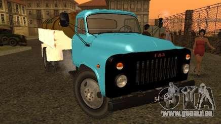 Camion-citerne de lait GAZ 53 pour GTA San Andreas