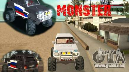 VAZ-21213 4x4 Monster für GTA San Andreas