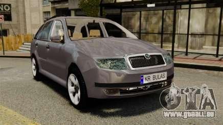 Skoda Fabia Combi für GTA 4