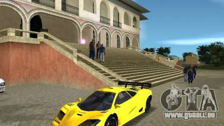 McLaren F1 LM für GTA Vice City