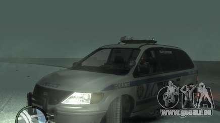 LCPD Minivan pour GTA 4