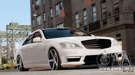Mercedes-Benz S65 W221 AMG Vossen pour GTA 4