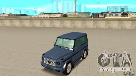 Mercedes-Benz G500 1999 Short [with kangoo v3] pour GTA San Andreas