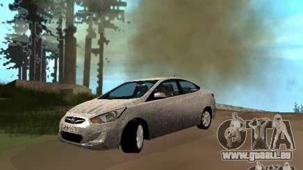 Hyundai Solaris pour GTA San Andreas