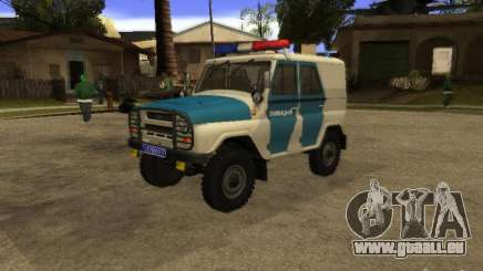 UAZ 31519 Police pour GTA San Andreas