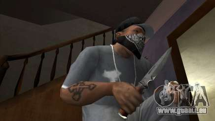 Jagd-Klinge für GTA San Andreas