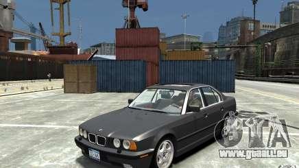BMW 540i E34 v3.0 pour GTA 4