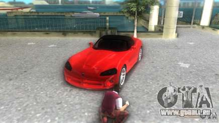 Dodge Viper SRT 10 Coupe pour GTA Vice City
