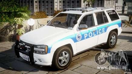 Chevrolet Trailblazer Police V1.5PD [ELS] pour GTA 4