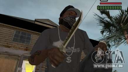 Steep Knife für GTA San Andreas