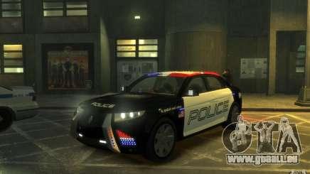 Carbon Motors E7 pour GTA 4