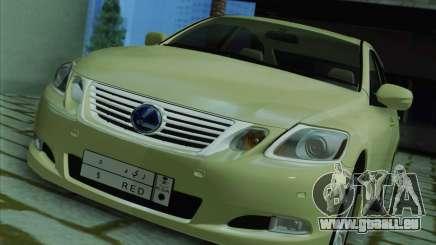 Lexus GS450h 2011 pour GTA San Andreas