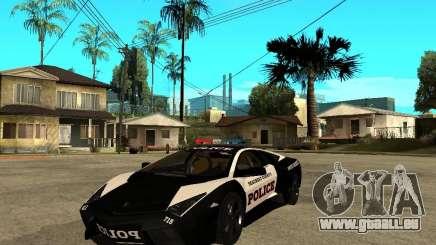Lamborghini Reventon The Speed Enforcer für GTA San Andreas